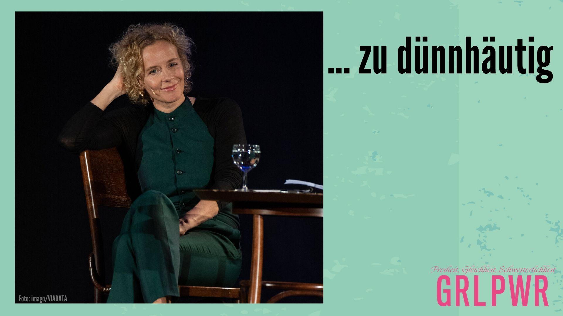 GRL PWR: Katja Riemann