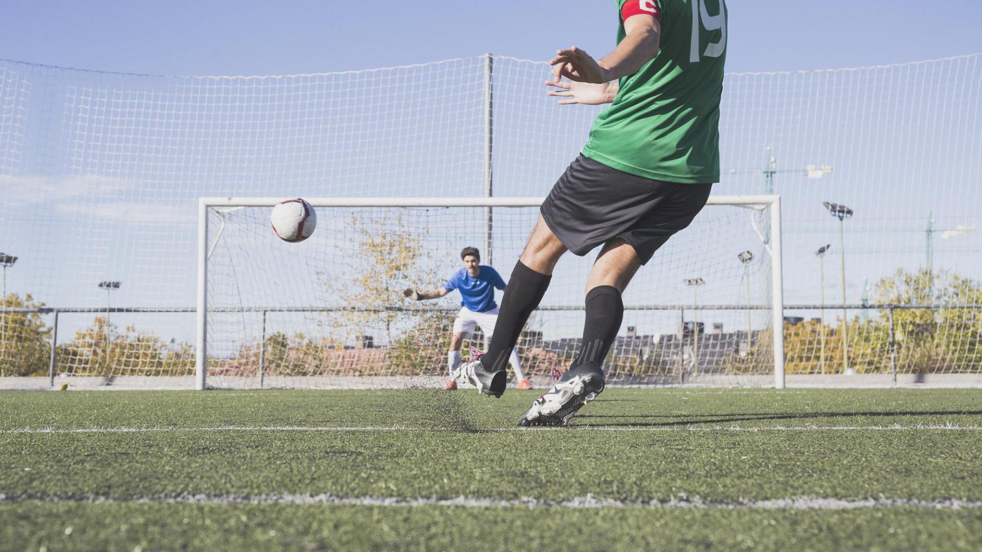 Mann Fußball