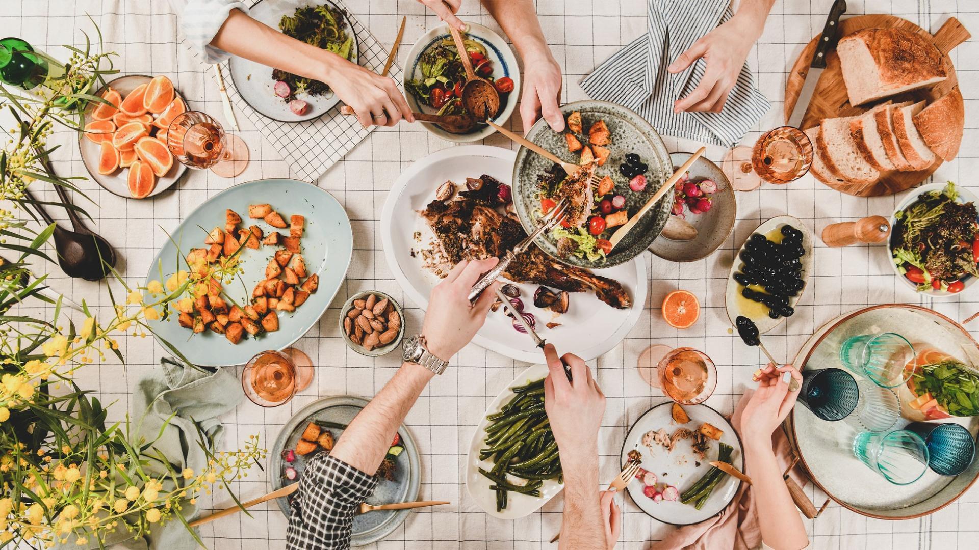 Familie Essen Tisch