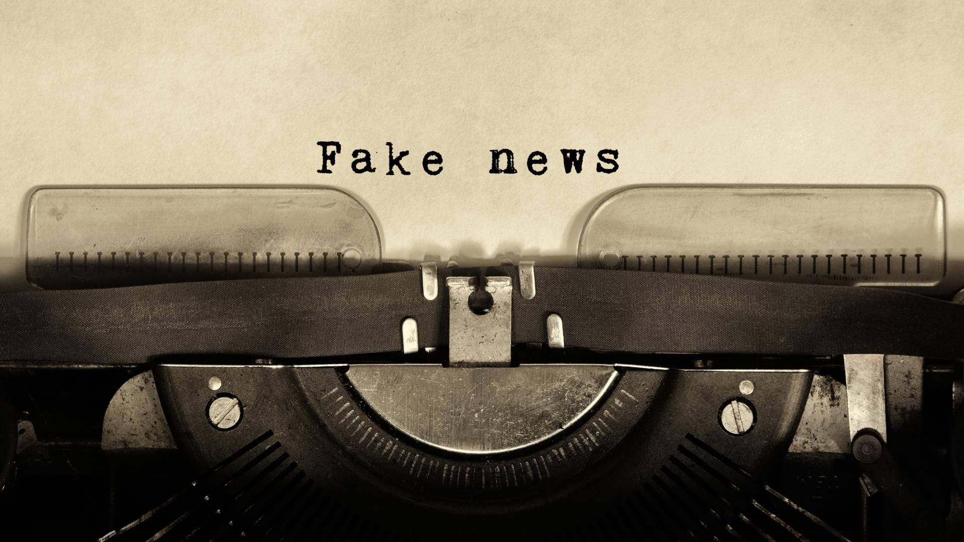 Fake News Zeitung