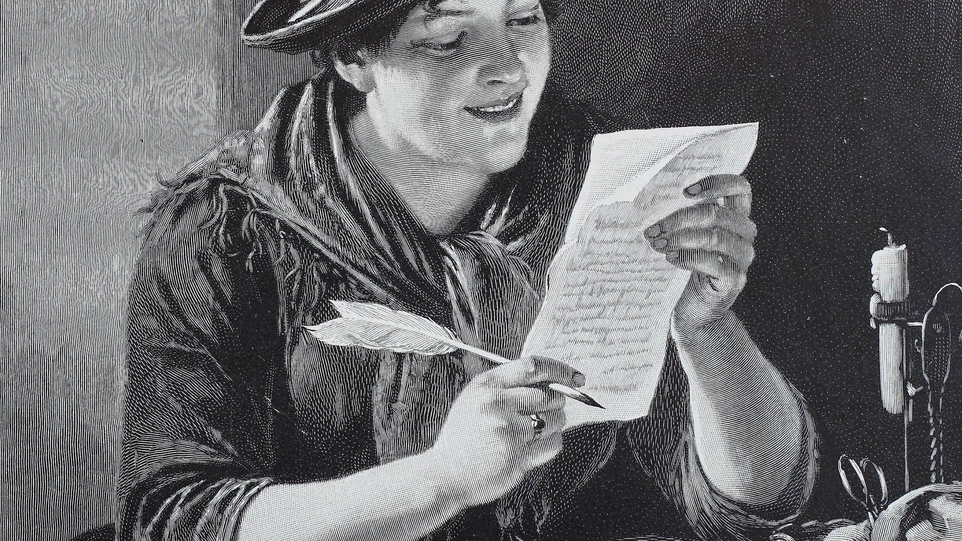 Brief schreiben ostern