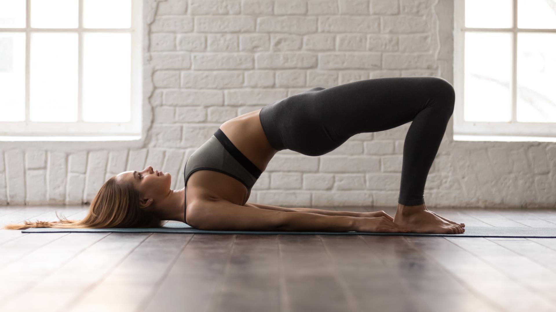 Glute Bridge Sport Übung rücken workout