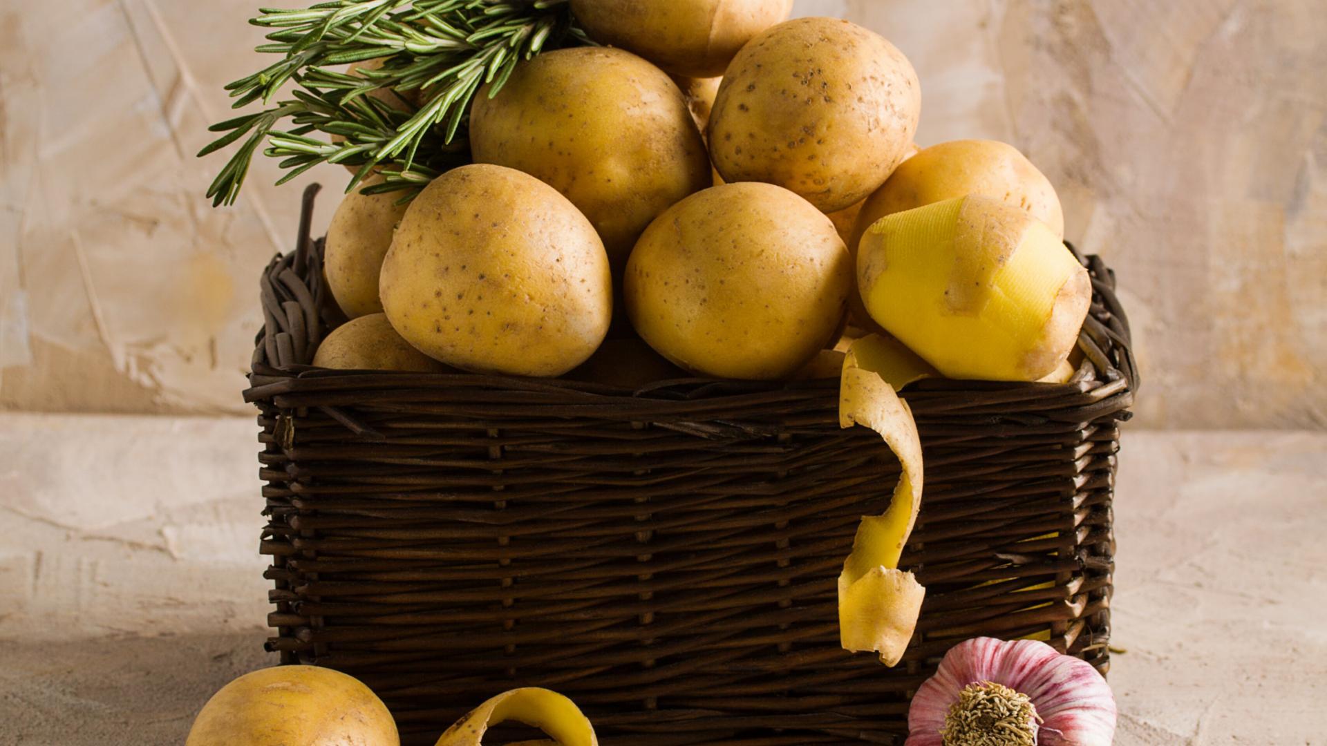 Kartoffeln Hefe machen selber schälen kochen