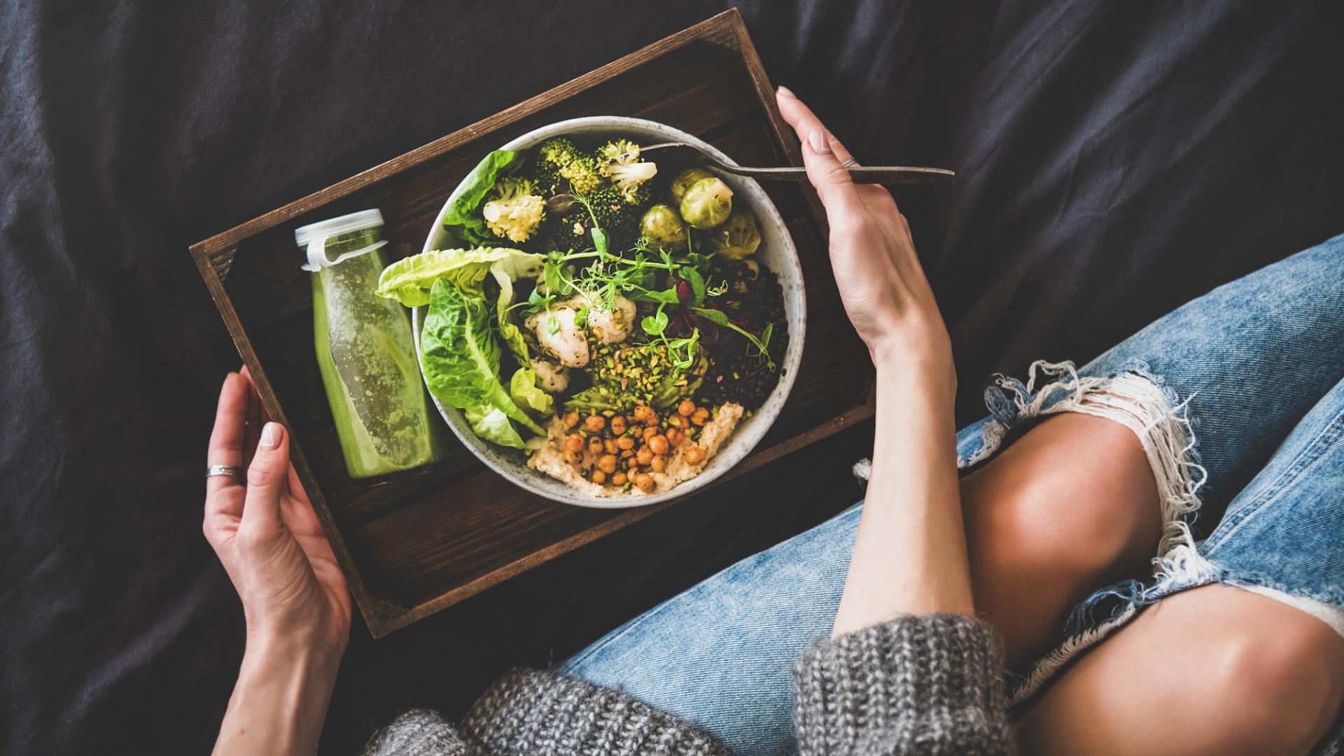 gesundes Essen Frau