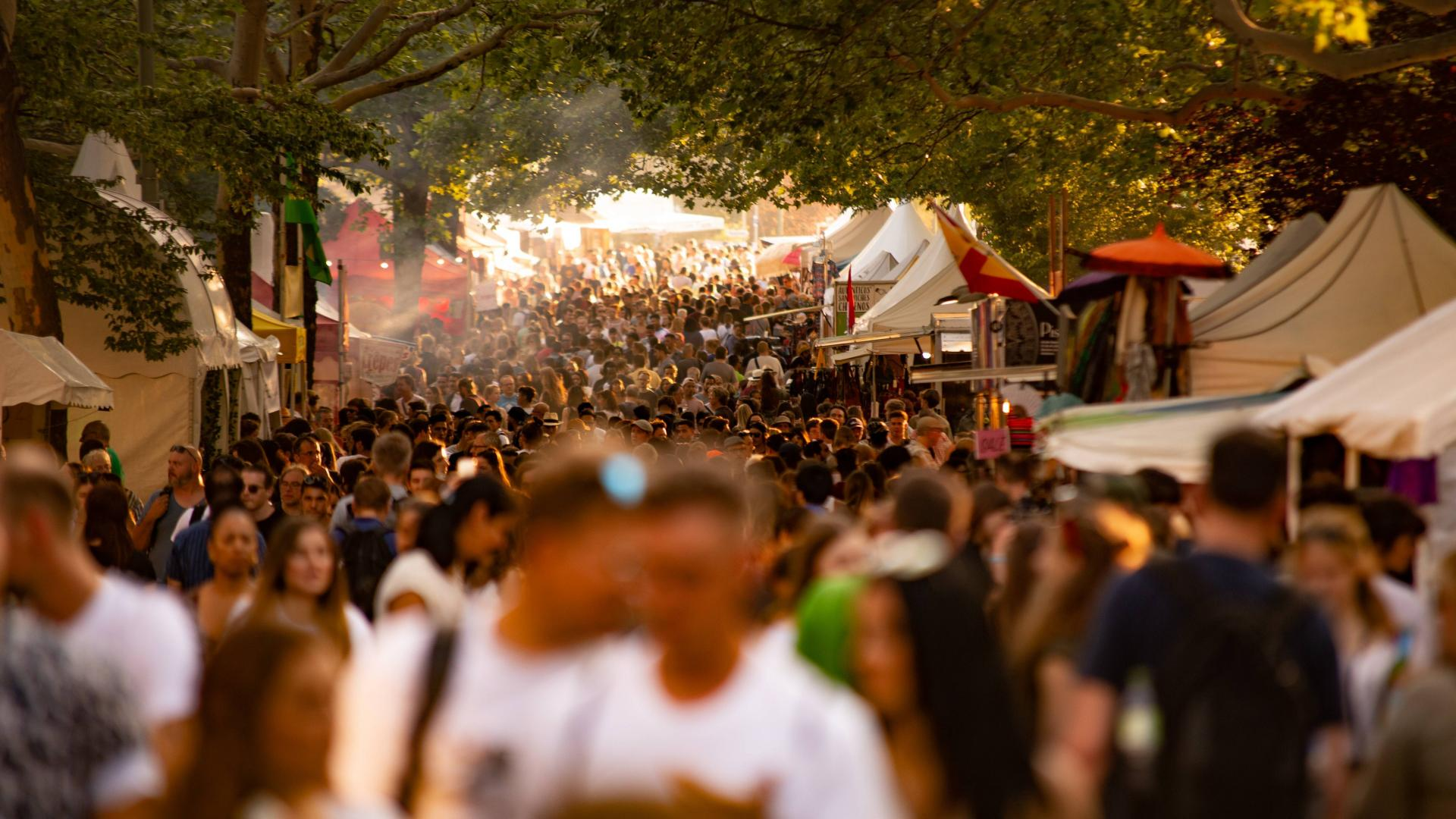 Biermeile Berlin Festival Karneval der Kulturen,
