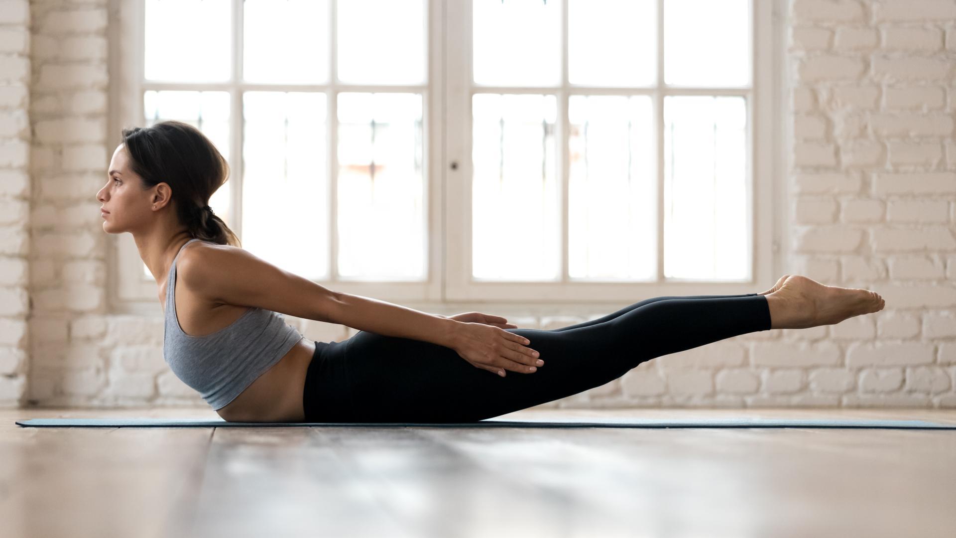Heuschrecke Yoga