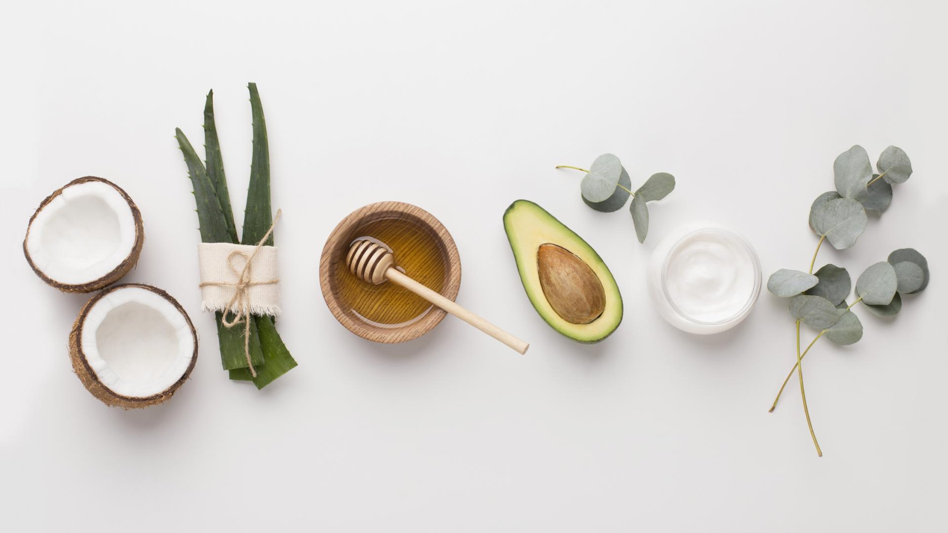 avocado beauty kosmetik honig aloe creme haarkur selber machen