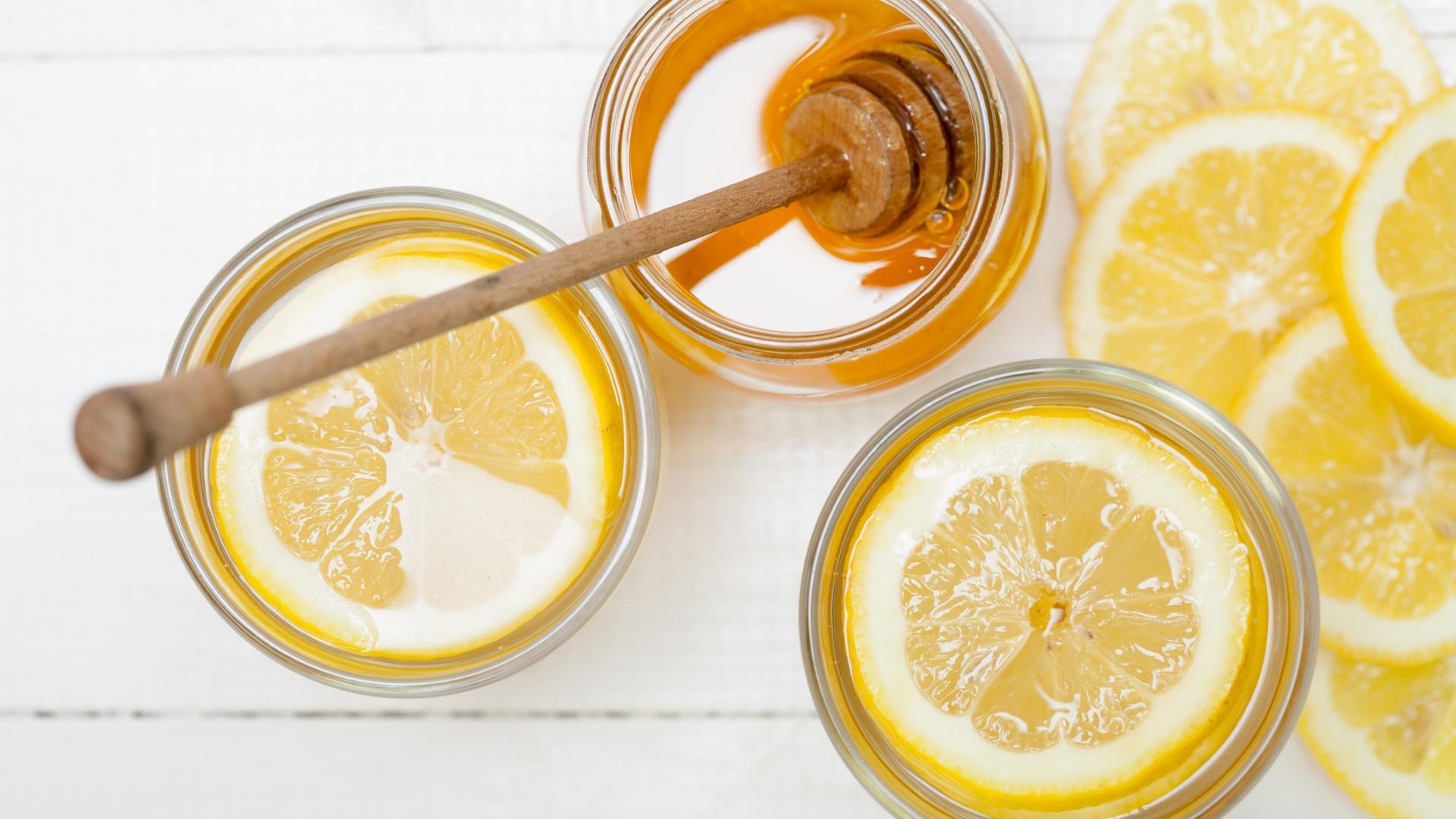 Zitrone Honig Haarkur selber machen