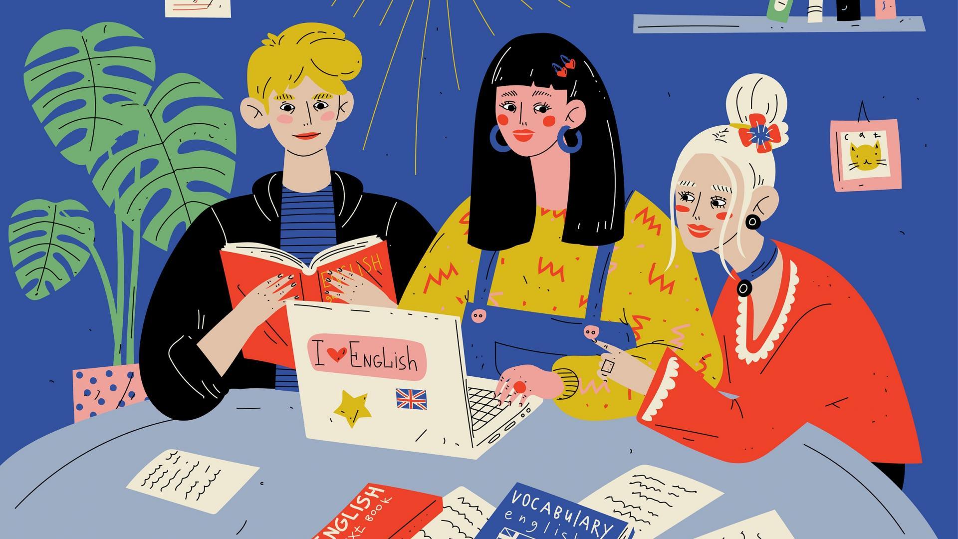 polyglotts lernen schule sprachen englisch