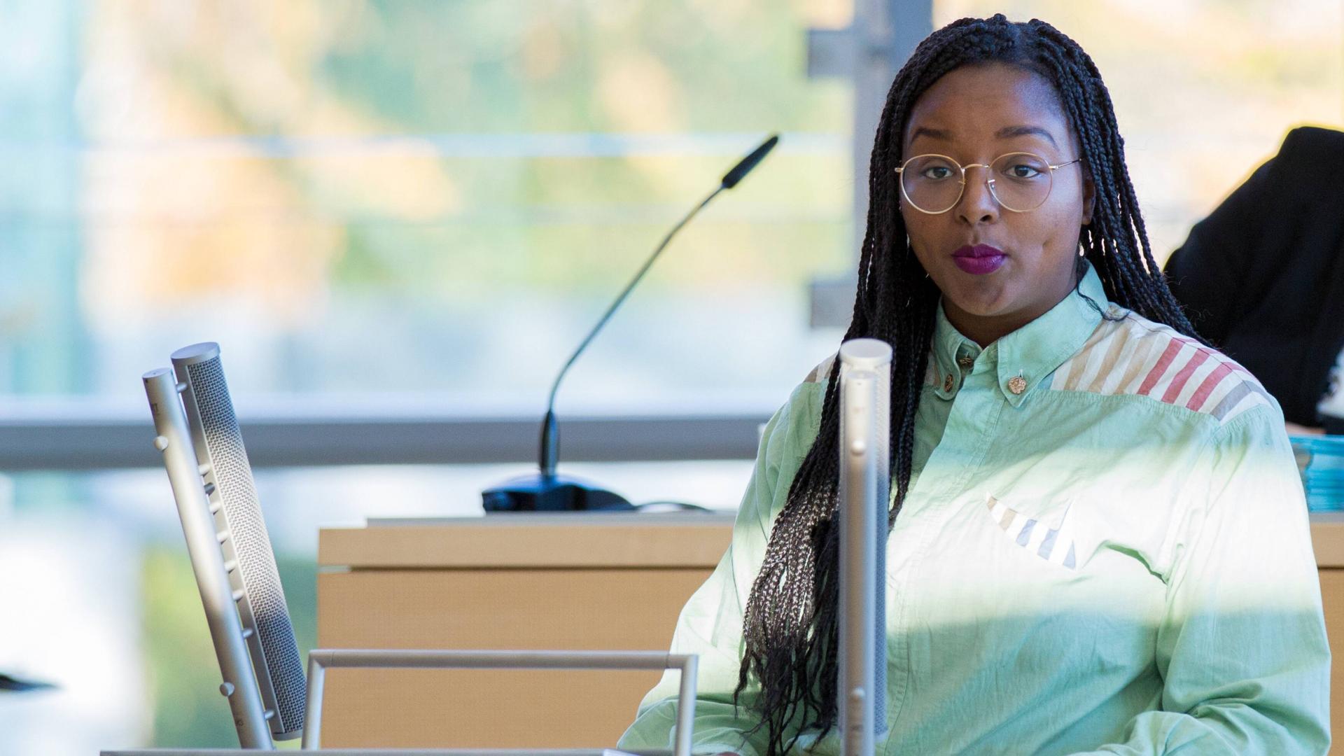 Aminata Touré ist jüngste Vizepräsidentin des Landtags