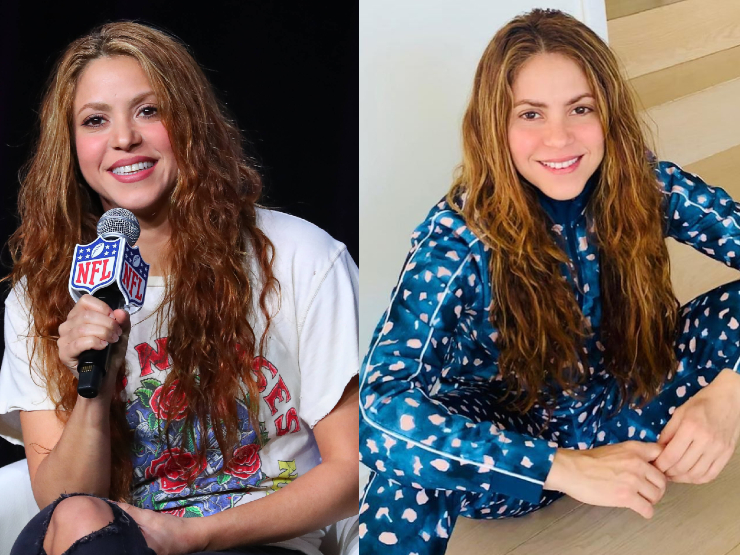 Shakira ungeschminkt in Corona-Quarantäne