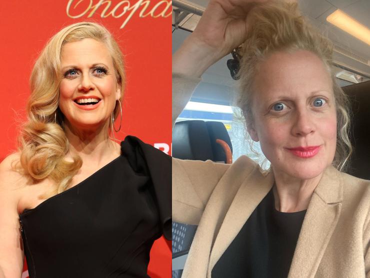 Barbara Schöneberger ungeschminkt in Corona-Quarantäne