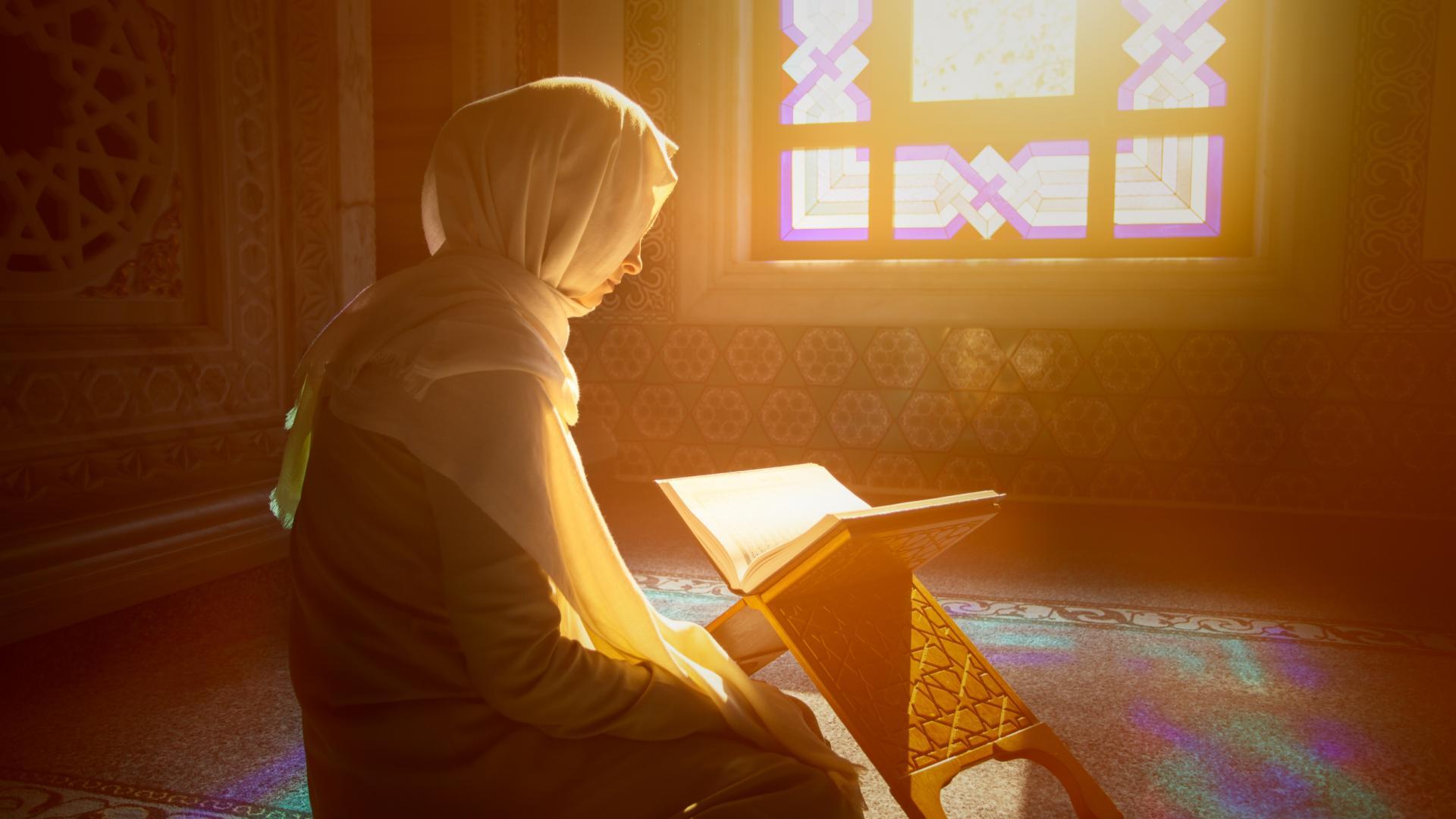 Muslima betet