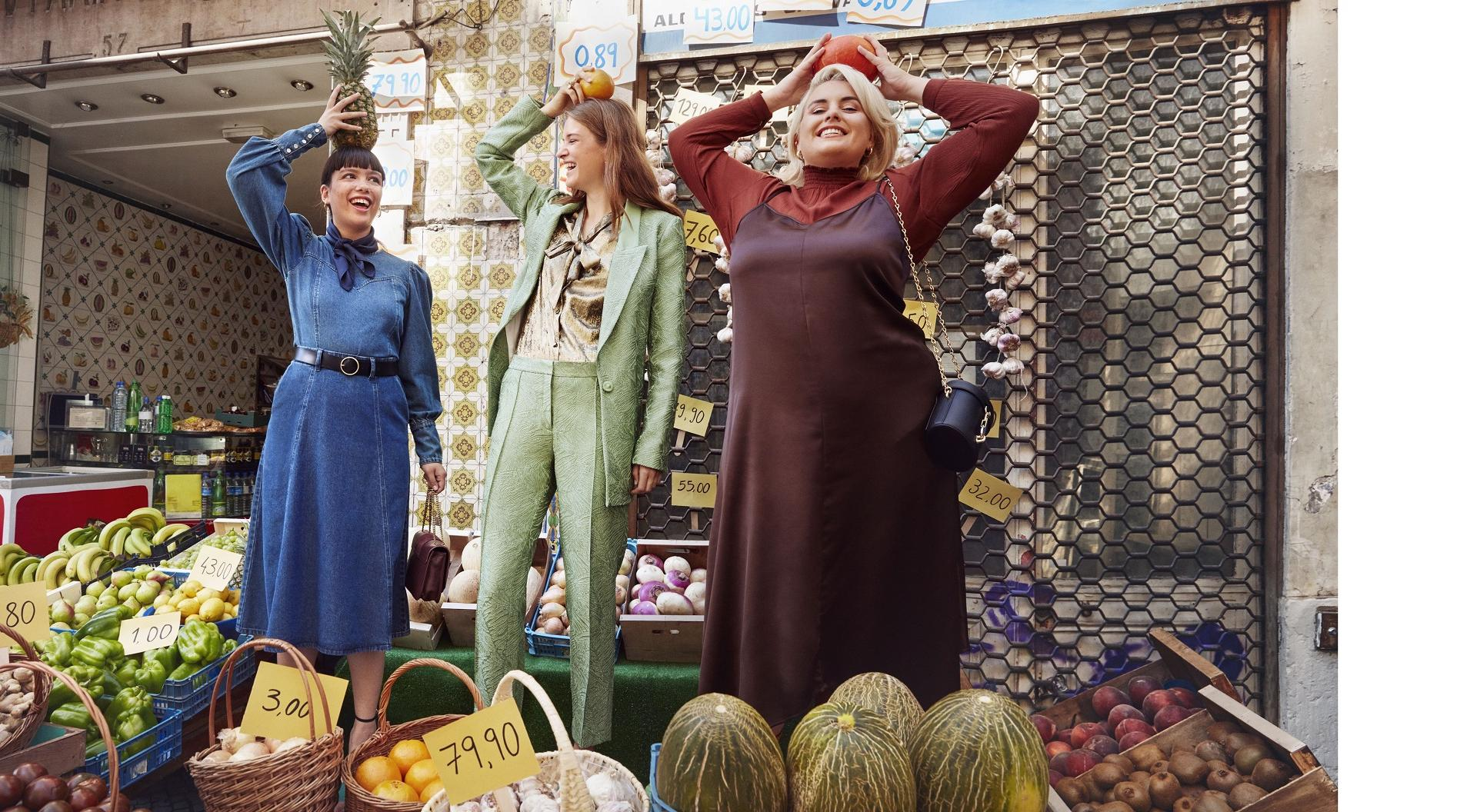 Zalando Winterkampagne Wi2019 mit Plus Size Fashion