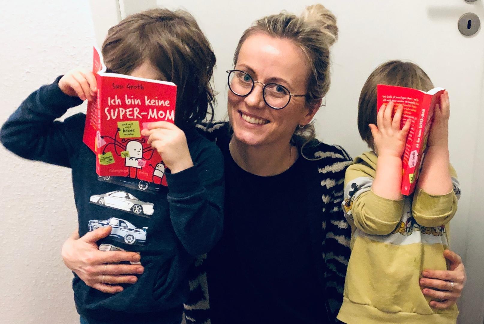 Keine Supermom: Susi Groth liefert in ihrem Buch ein authentisches Bild vom Mutterdasein.
