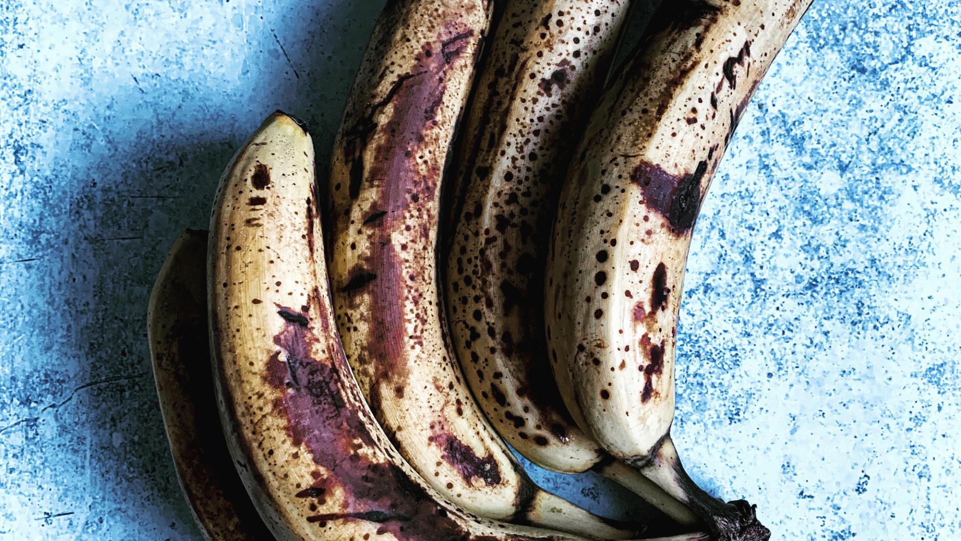 Braune Bananen für Nice Cream