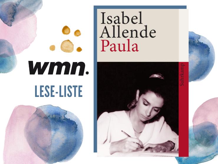 Bücher für Frauen Leseliste Isabel Allende Paula