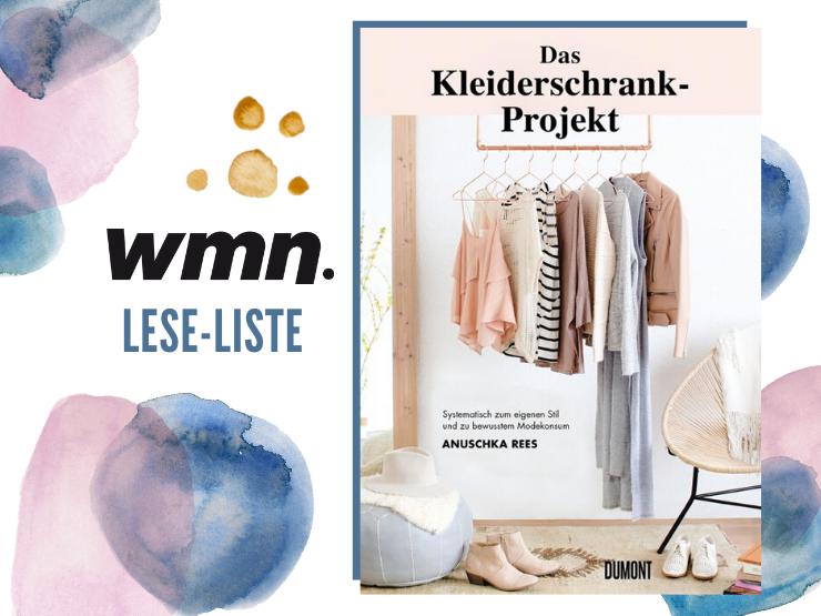 Das Kleiderschrank Projekt Anushka Rees Minimlismus Buch
