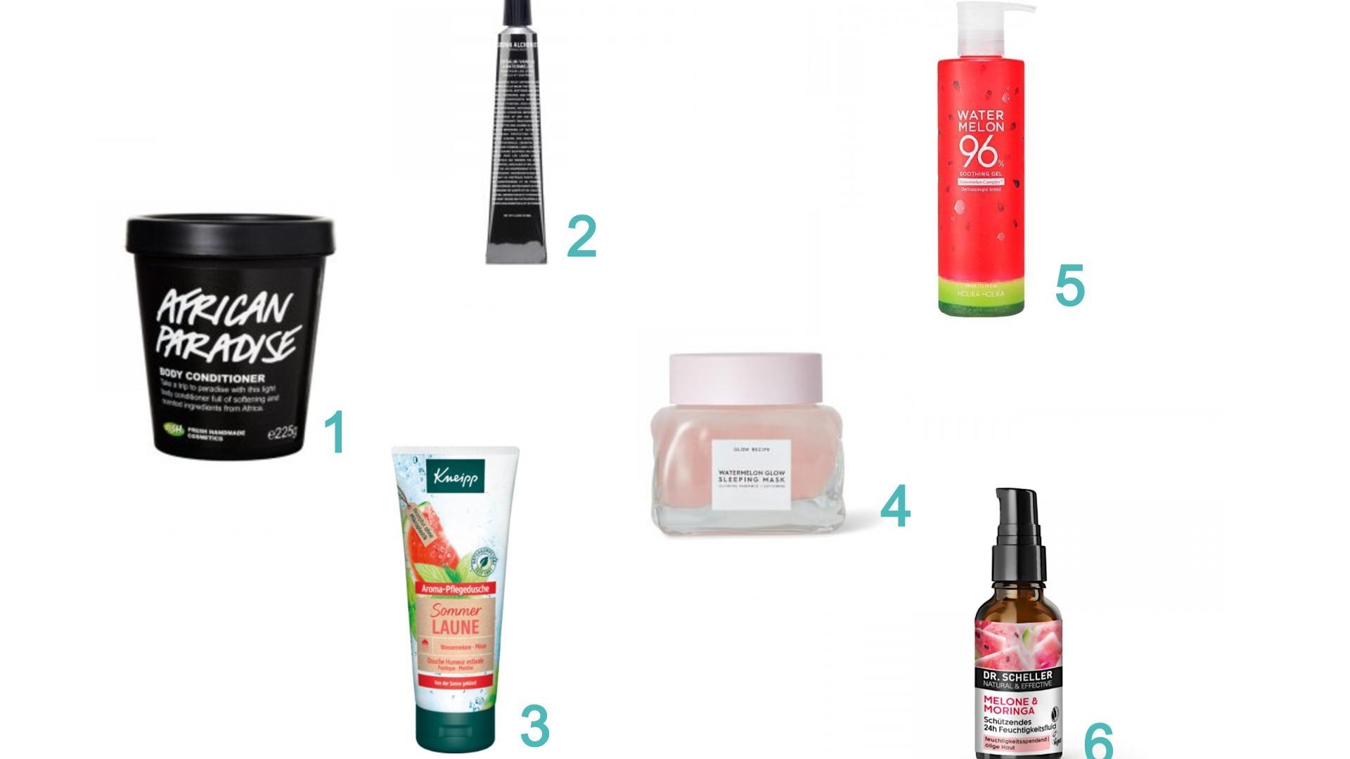 Große Auswahl: Mittlerweile gibt es viele Produkte, die Wassermelone enthalten.