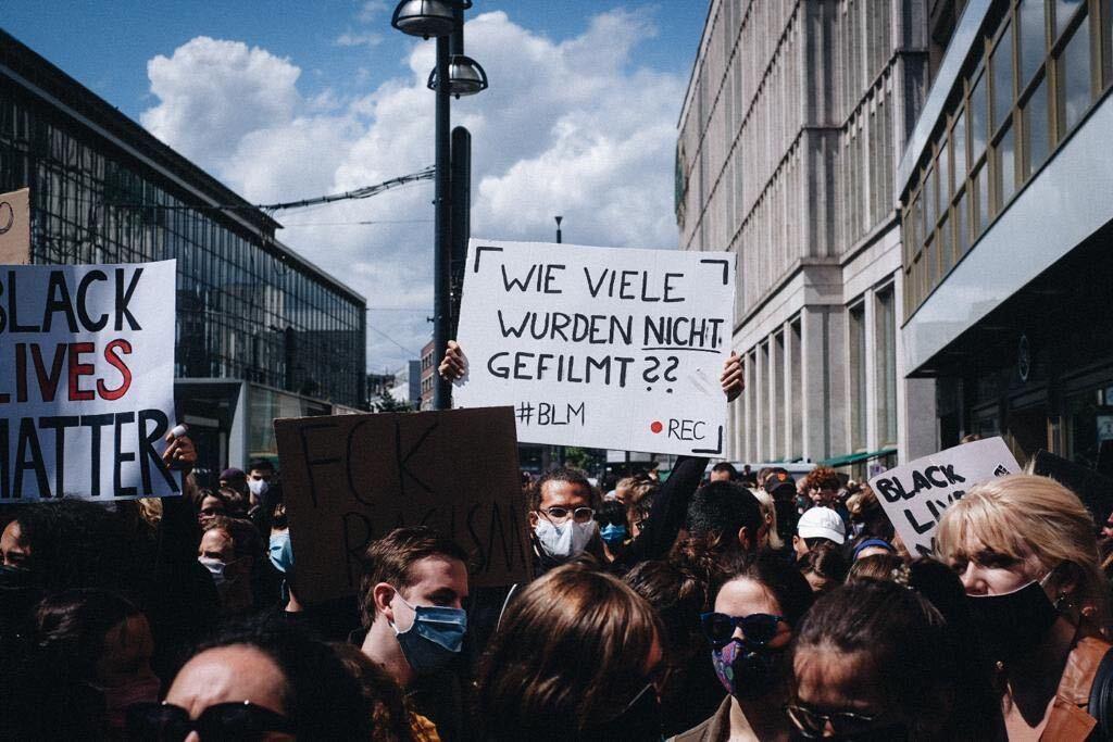 proteste schwarze