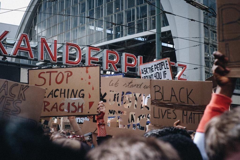 proteste berlin schwarze george floyd