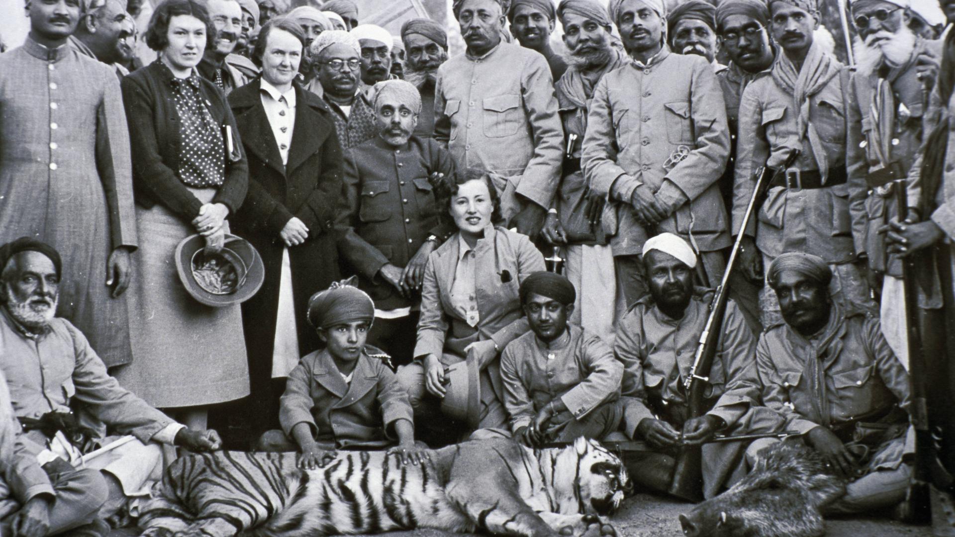 Die Verbrecher des Kolonialismus in Asien indien