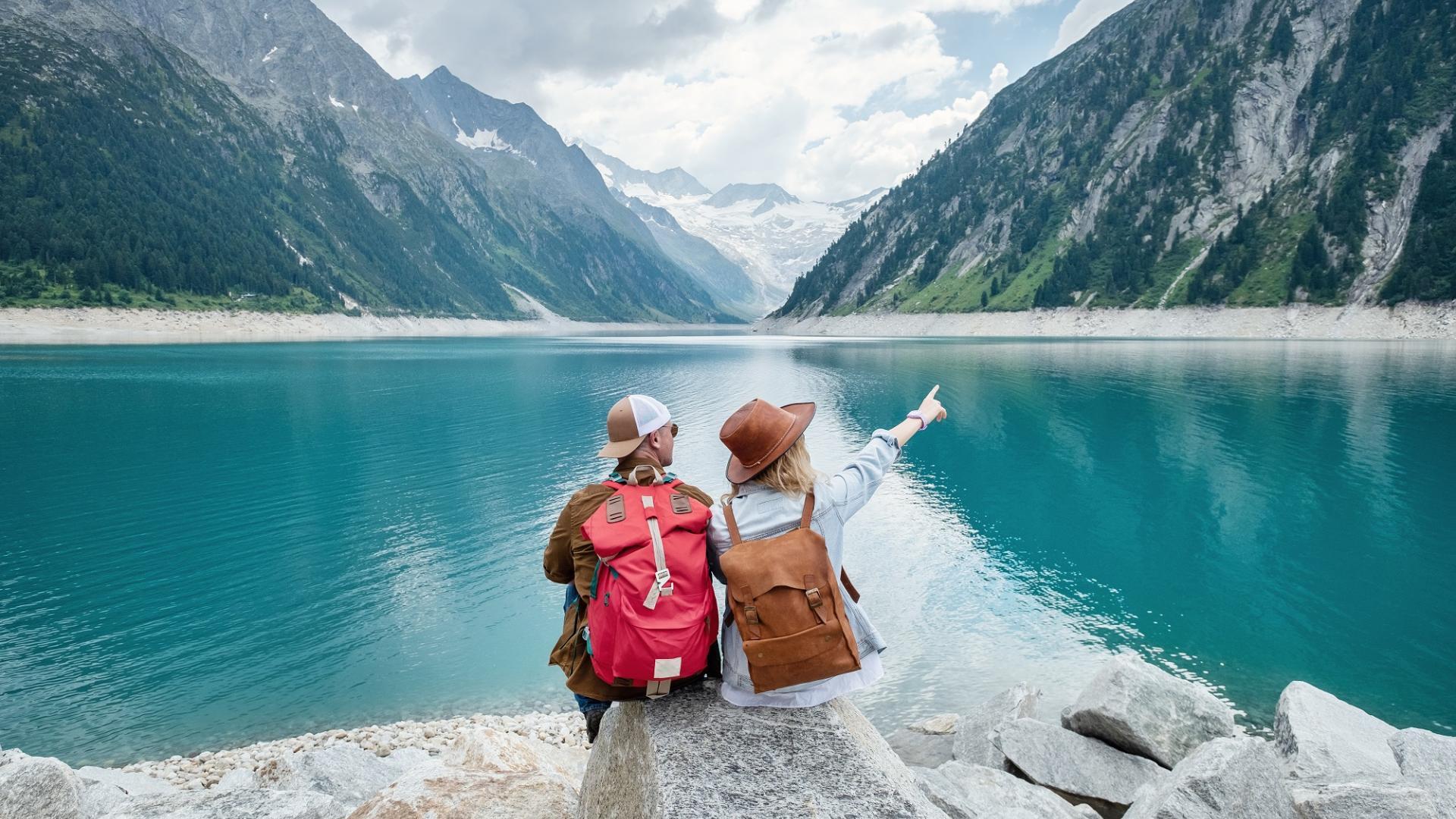 See Freundschaft Reisen Berge