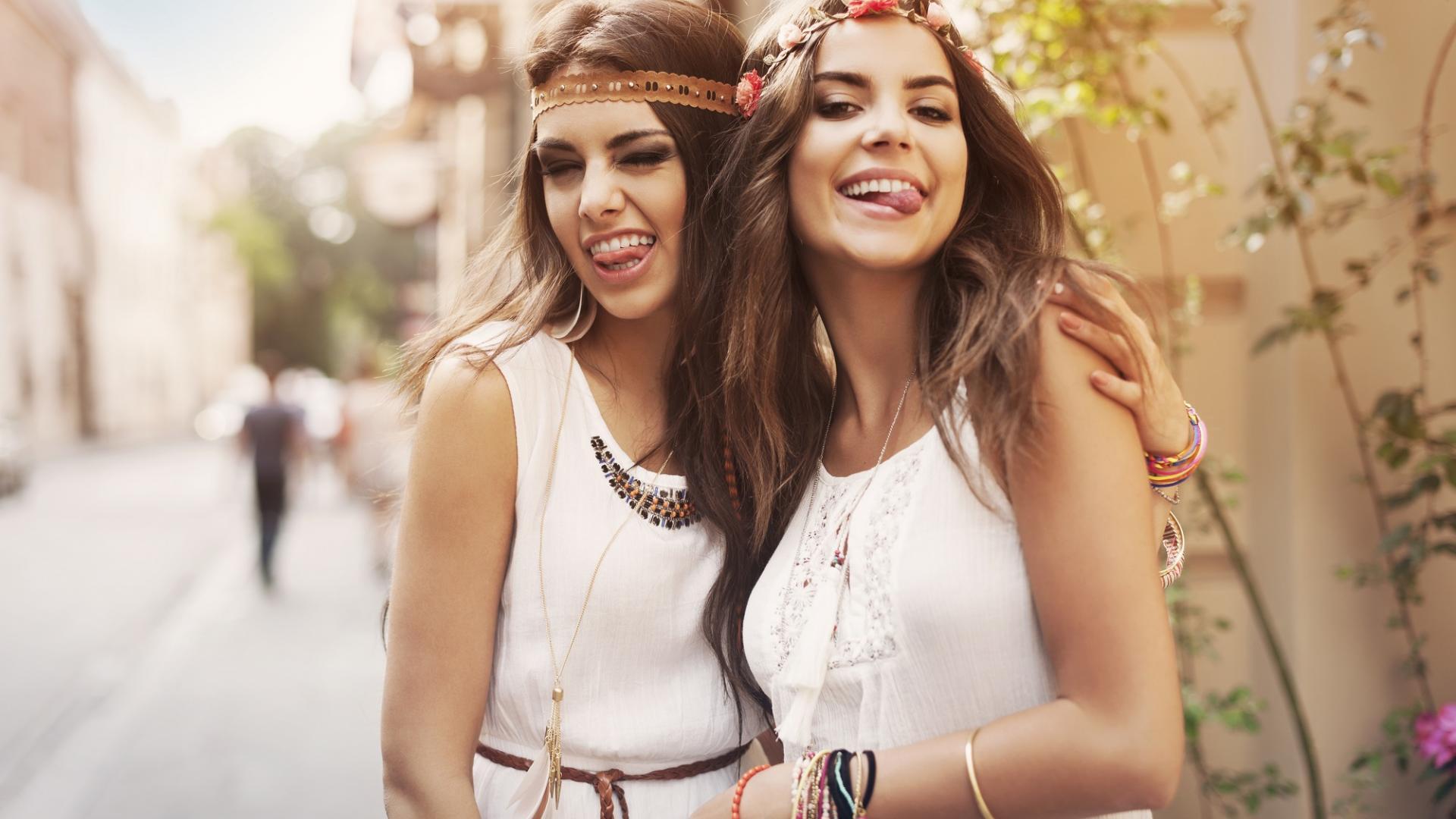 Freundinnen Sommer Spaß