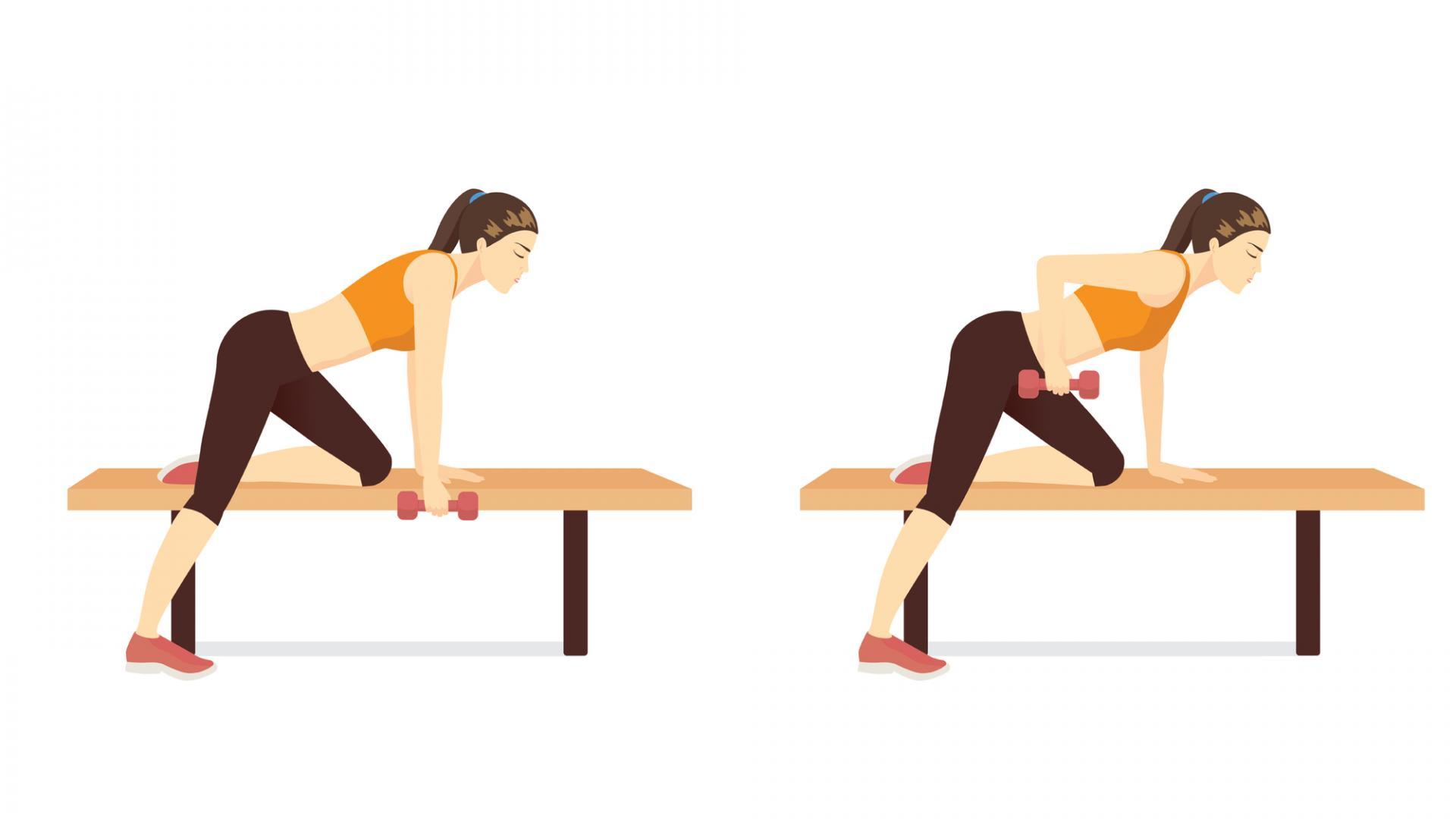 unilaterales training, workout, sixpack