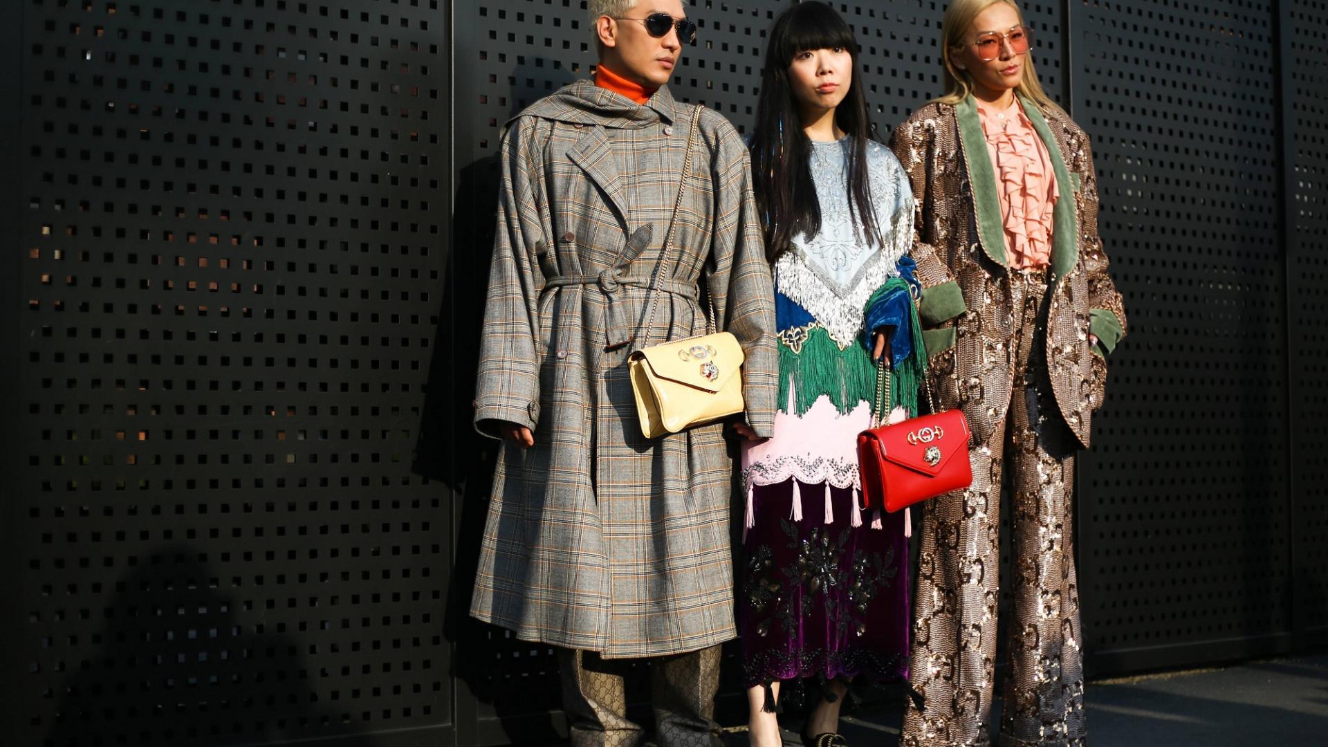 Gucci taschen gen z Milan fashion week