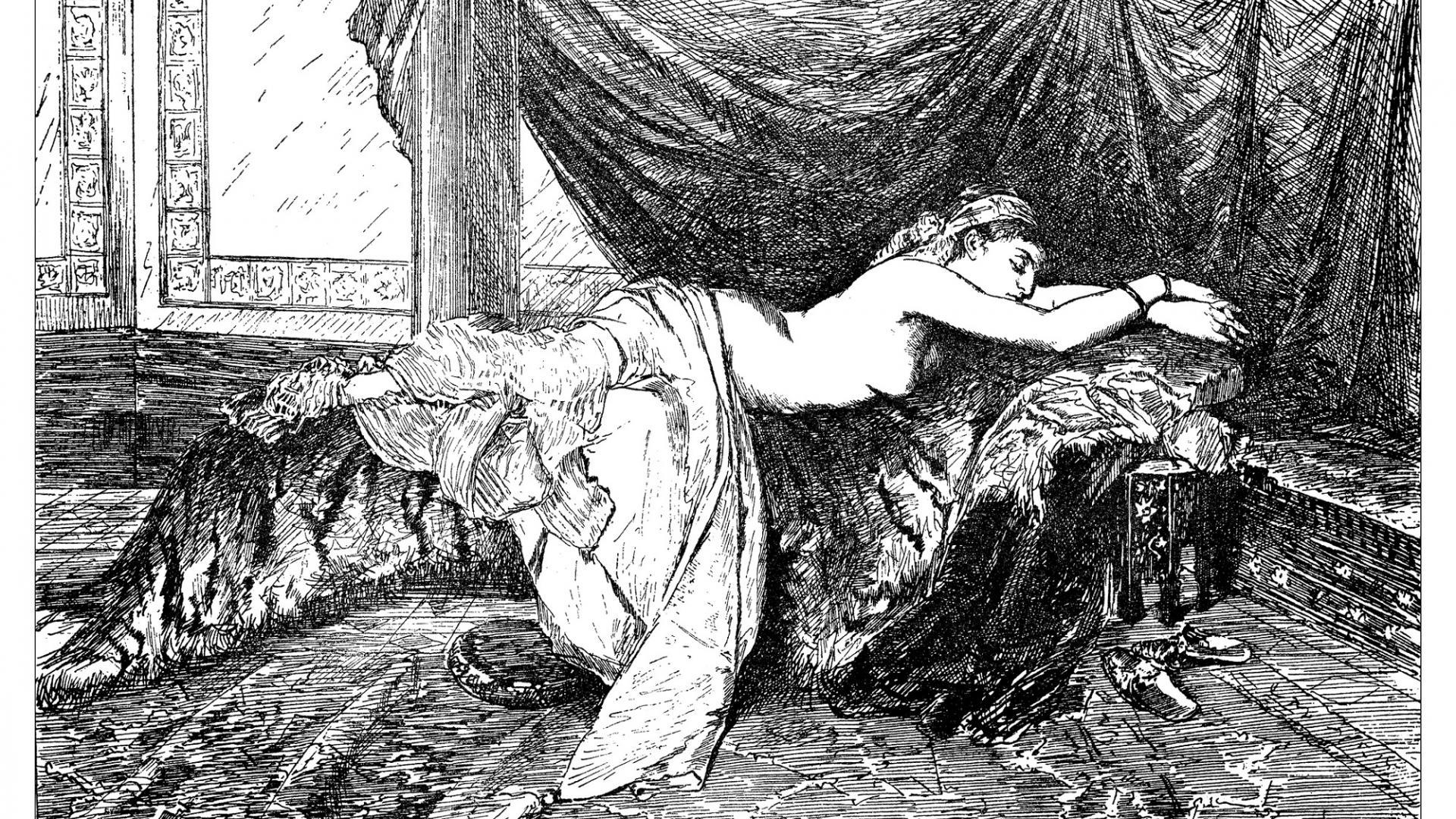 Frau Bett
