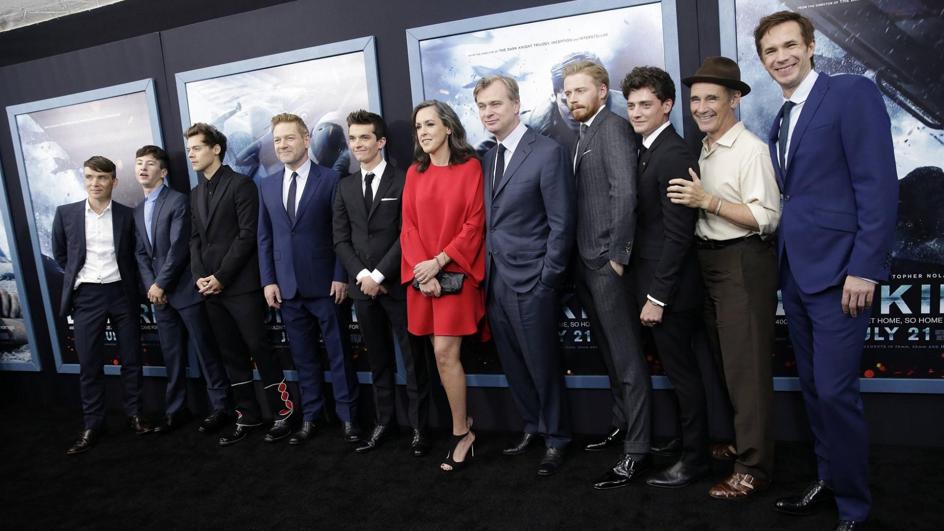 Cast des Dunkirk-Films auf dem roten Teppich