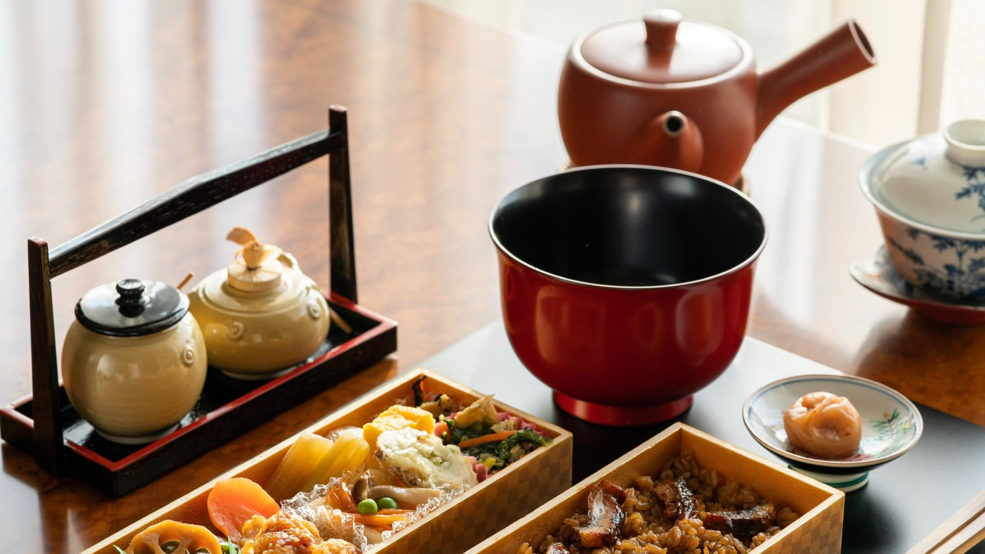 Bento, Japan, Sushi, Reis, japanische Küche.