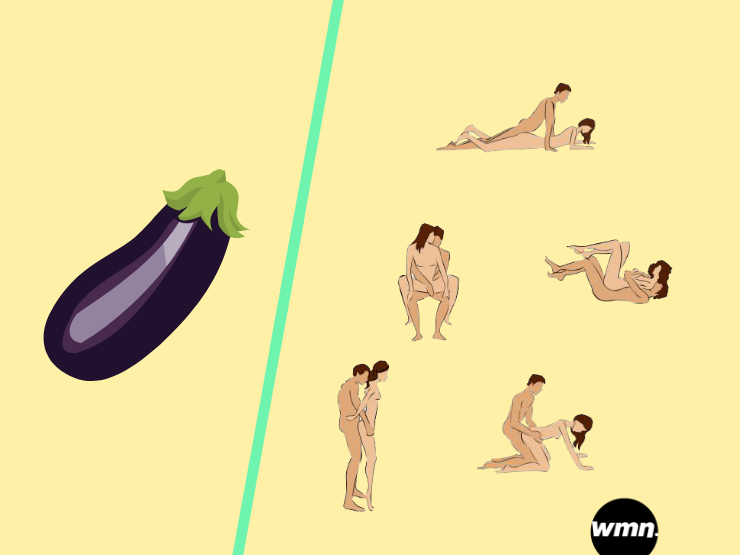 Penisformen AUbergine