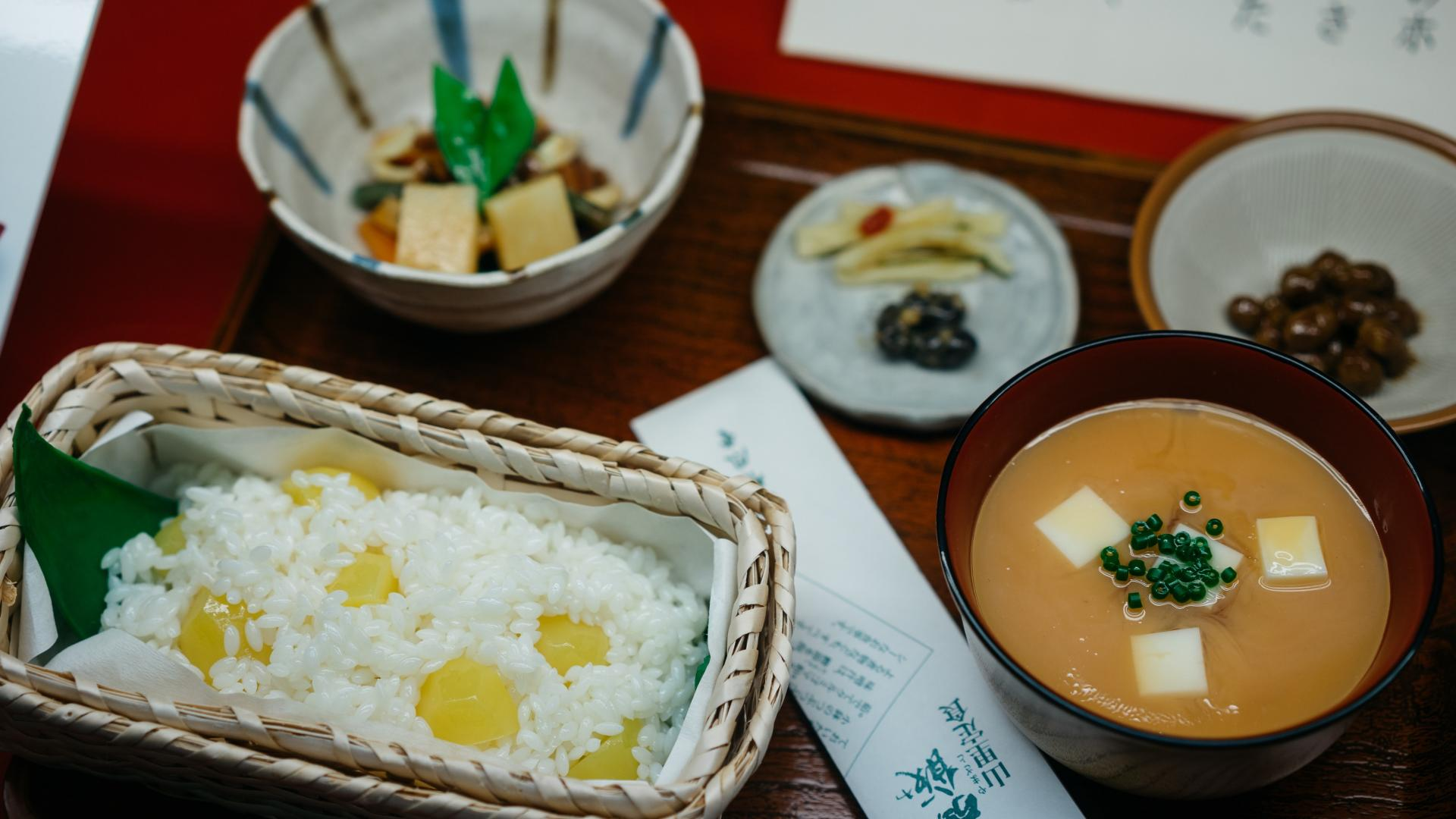 japanische Küche, Japan, japanische Mahlzeit, japanische Ernährung