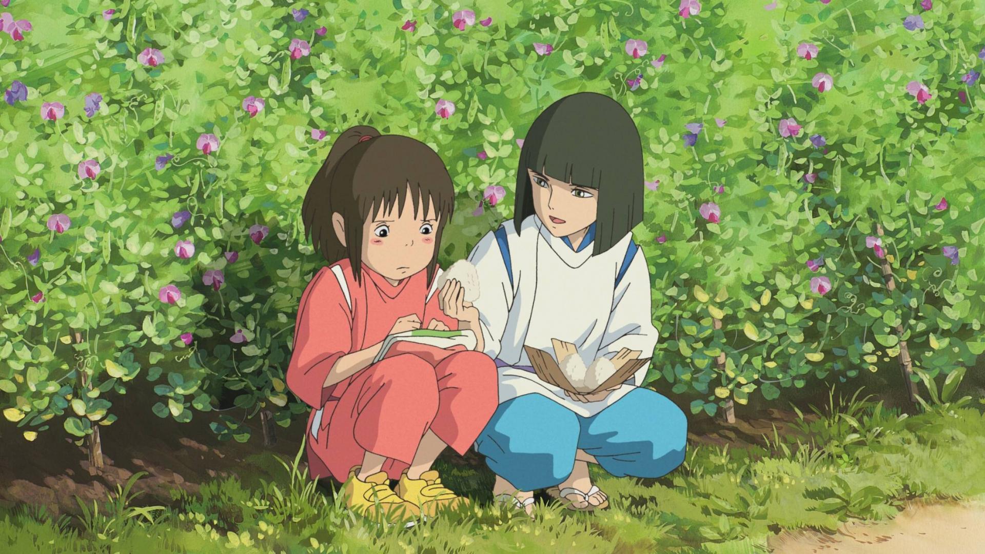 Japanischer Kinderfilm, Chihiro ins Zauberland, Miyasaki, Japan.
