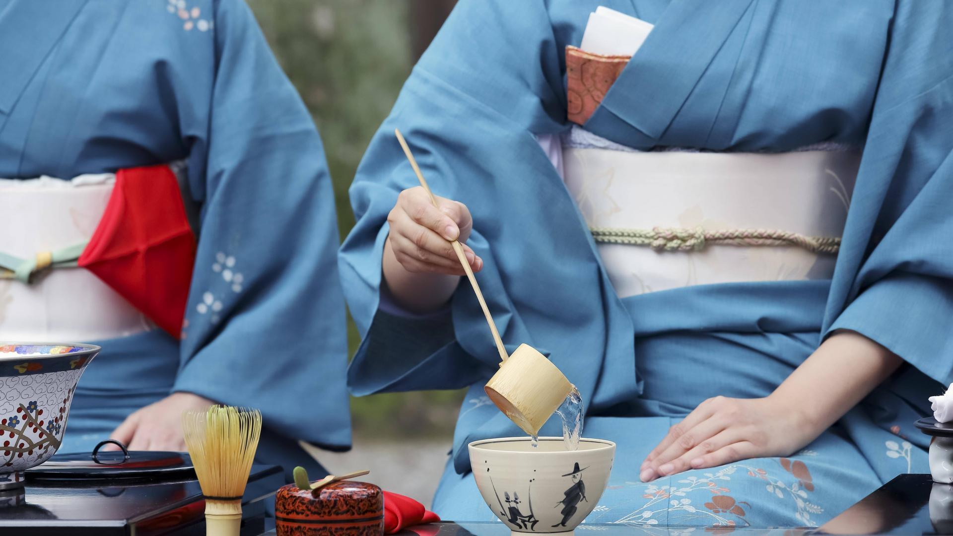 Japan, Japanische Tradition, Kimono, Teezeremonie, Japanische Ernährung