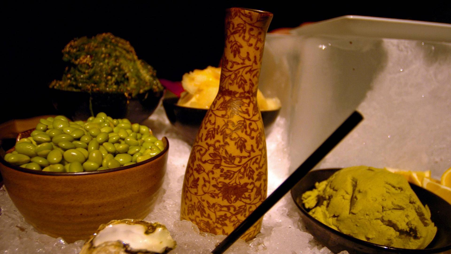 Edamame, japanische Küche, japanische Ernährung