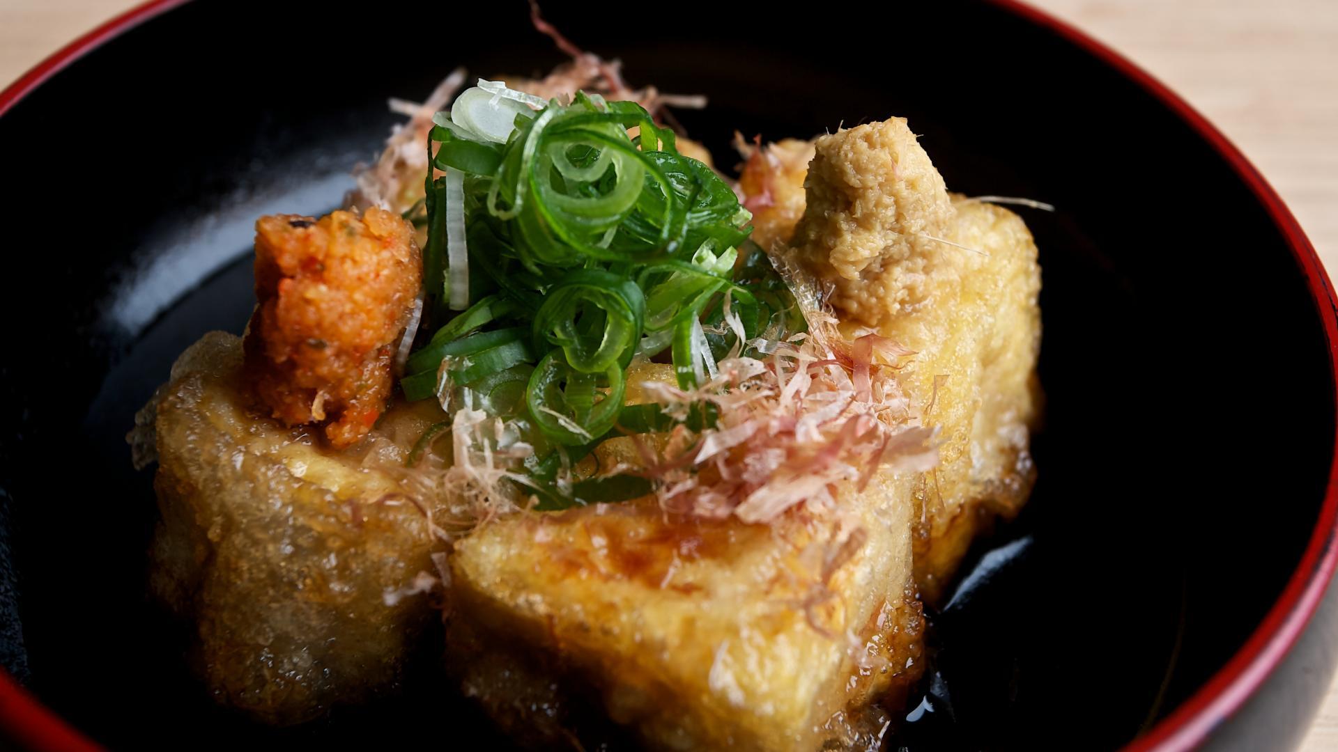 japanische Ernährung, japanische Küche, japansiche Lebensmittel, Tofu