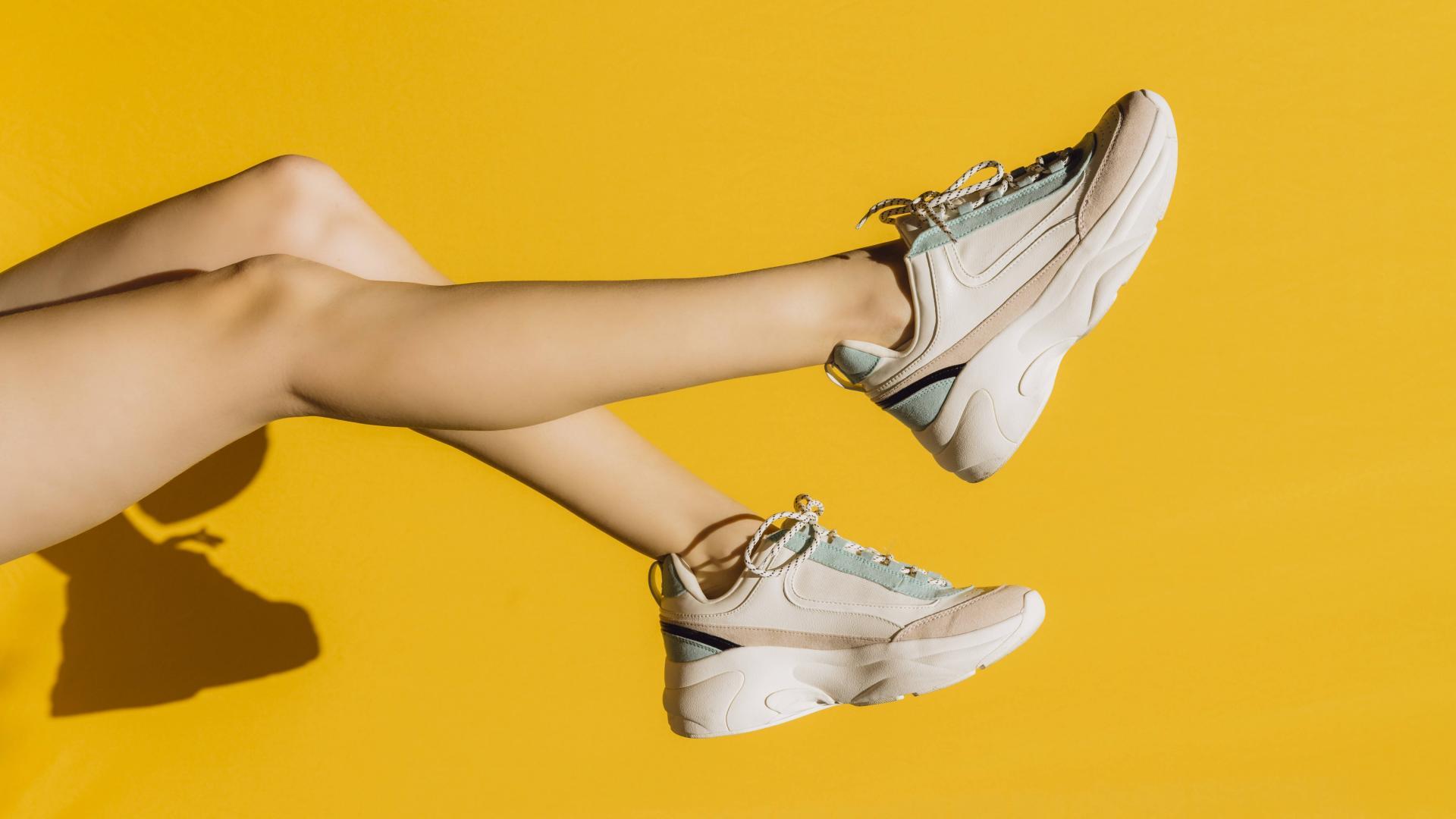 Beine Frau