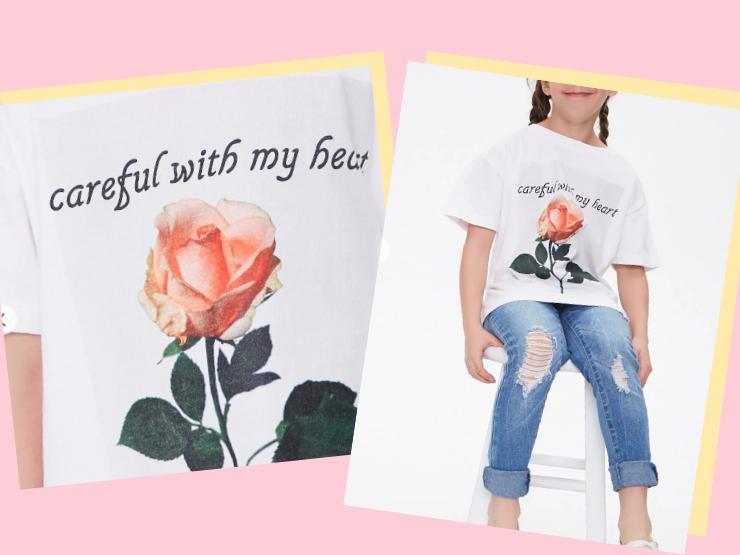Forever 21 sexistische sprüche kleidung kinder t shirt
