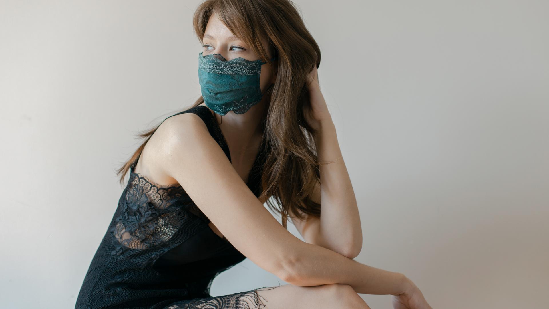 Chanty Spitze Maske