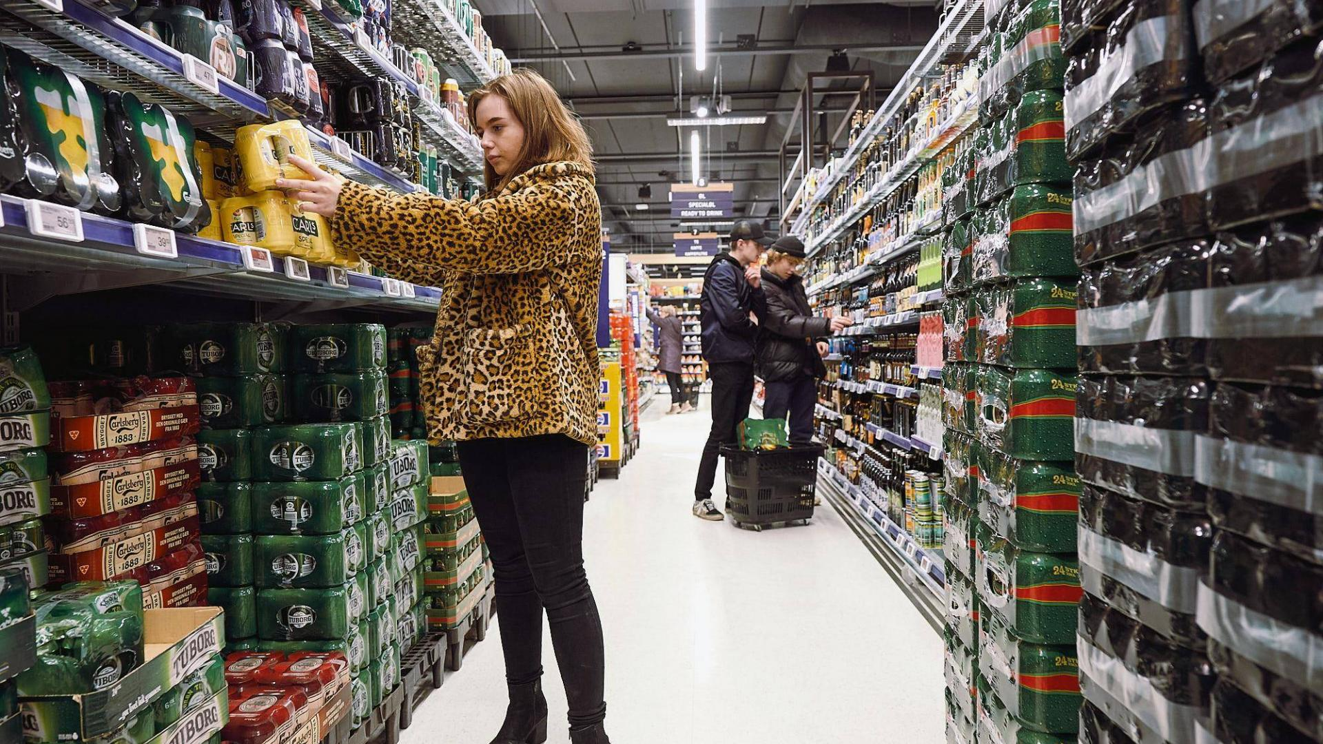 Dänemark Alkohol Supermarkt