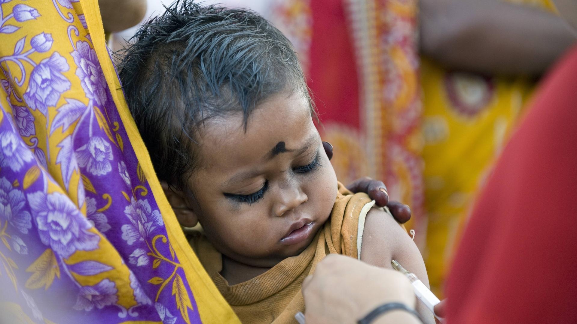 impfung kind corona baby krank arzt