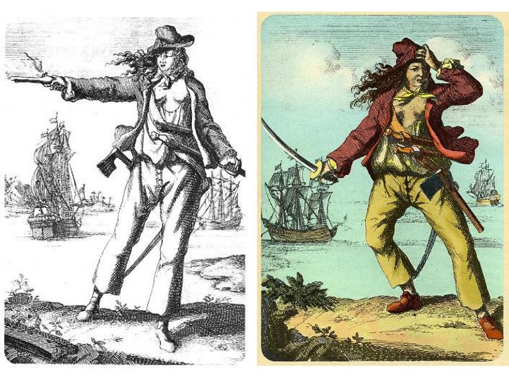 Mary Read Anne Bonny berühmte Piratin
