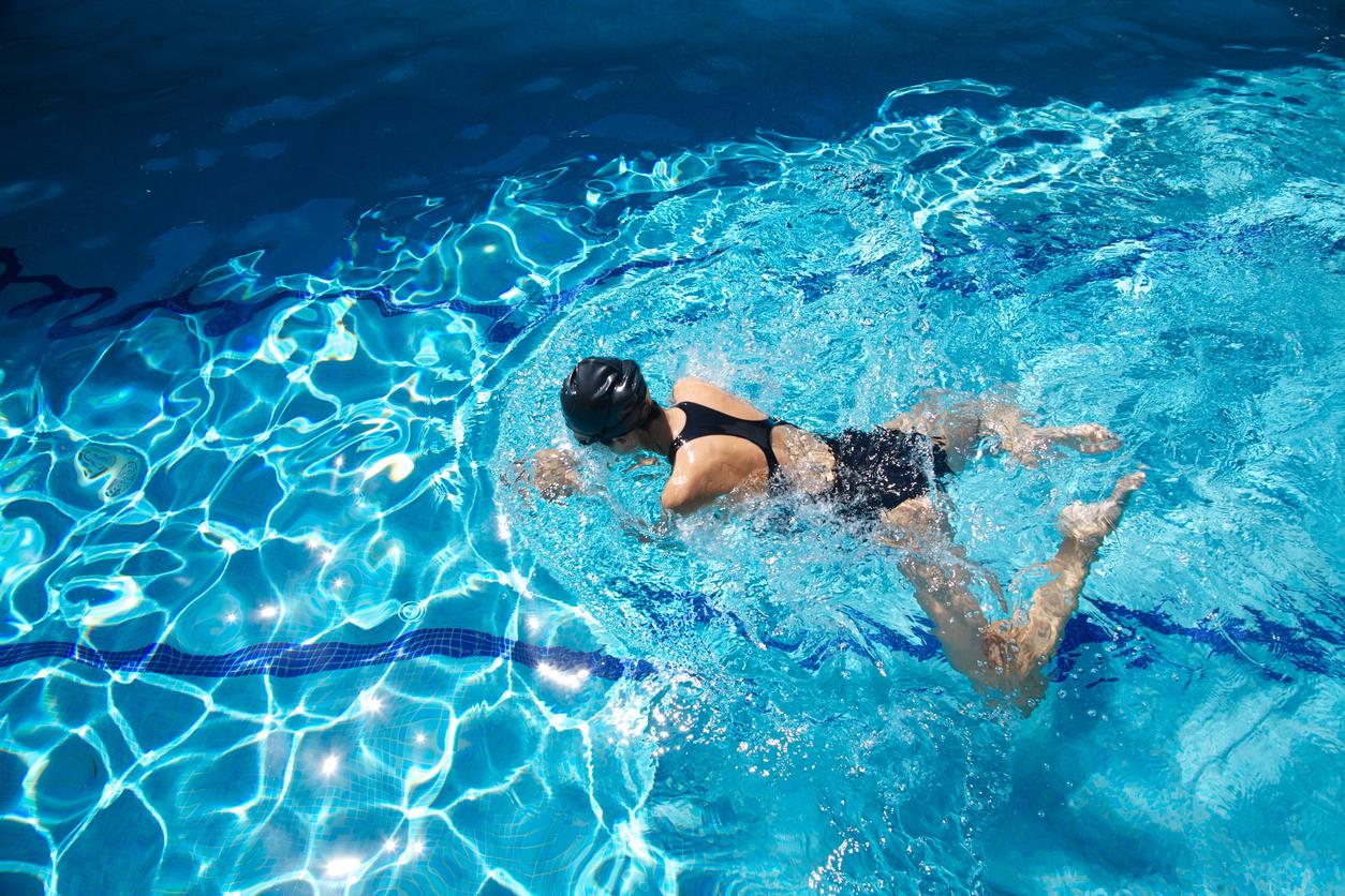Schwimmen als Sport