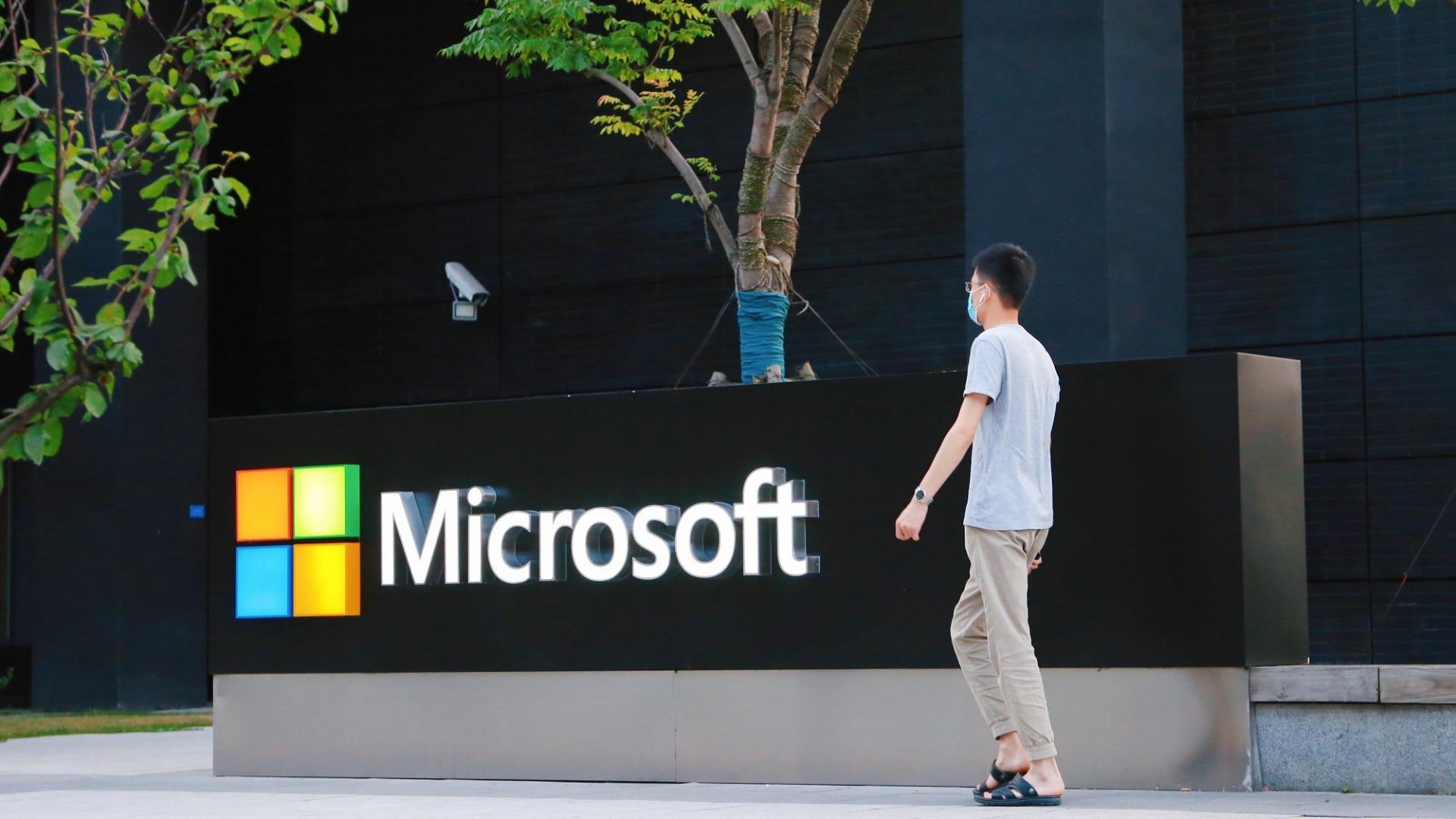 Mann, Unternehmen, Microsoft