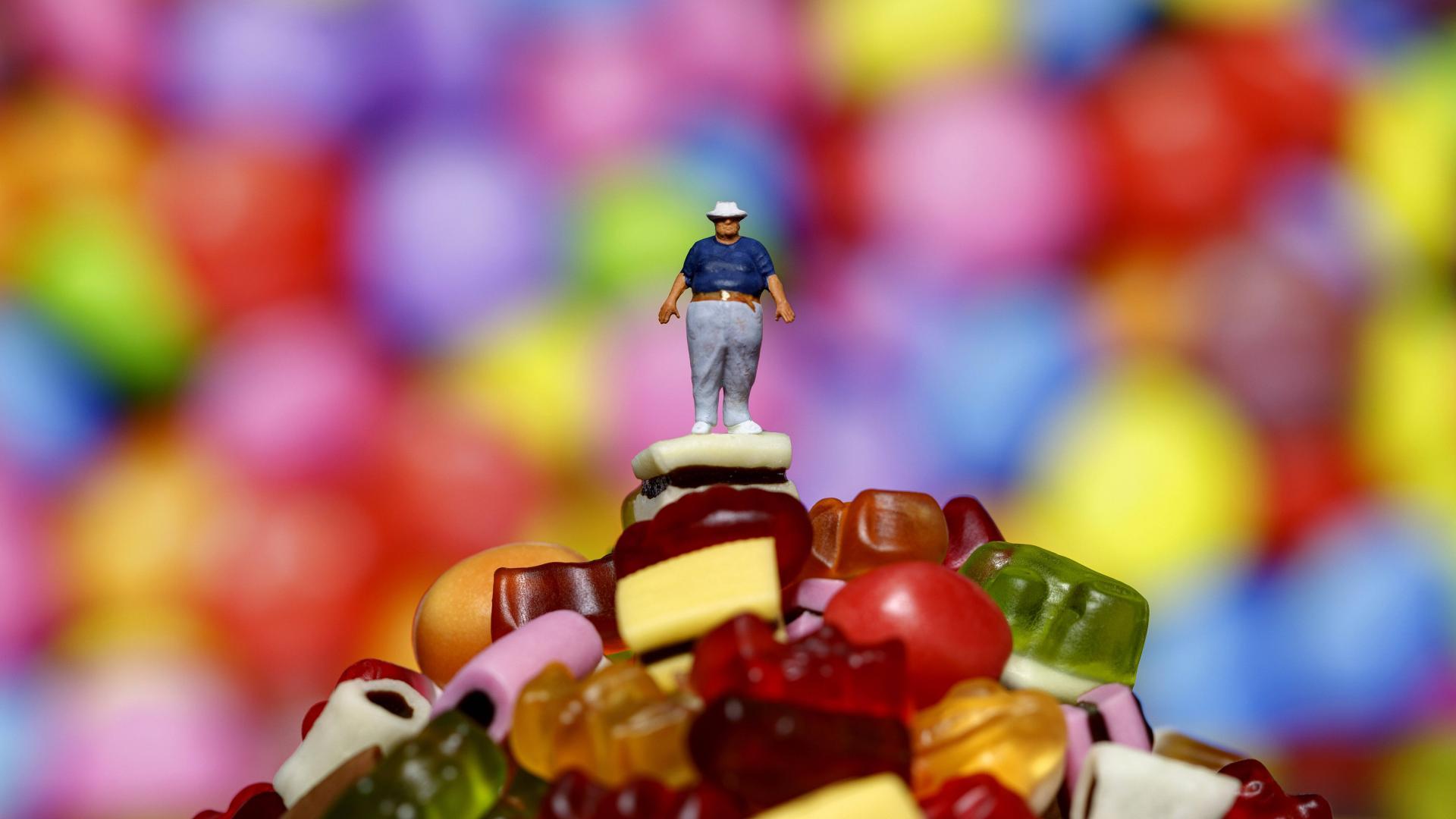süßigkeiten weingummi haribo dick essen lacker ungesund