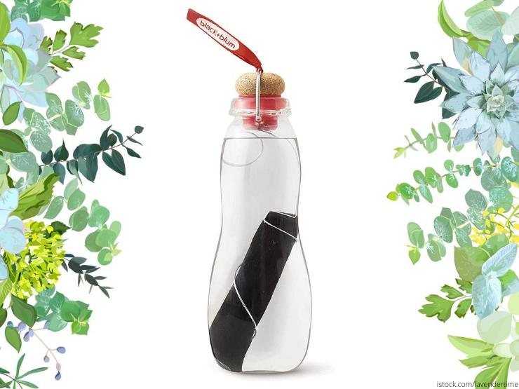 Trinkflasche Glasflasche