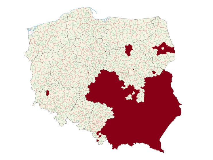 LGTB freie Zonen in Polen